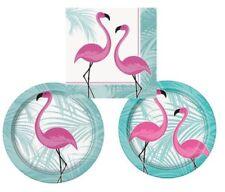 Tutto rosa per la tavola per feste e party a tema fenicotteri
