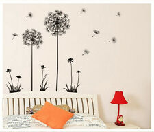 DIY Art Wall Decals Dandelion Flower Sticker Home Room Decor Removable Vinyl