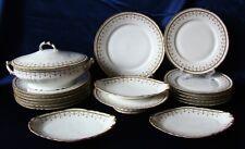 Service porcelaine Boisbertrand Limoges1900-1938 18 piès