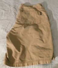 Mens Brown Wolverine Shorts Size 38