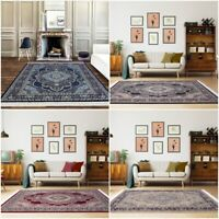 Non Slip Large Traditional Rugs Long Hallway Runner Living Room Bedroom Carpet