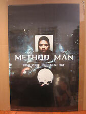 vintage WU-TANG Method Man judgement day  Poster original 1998 4871