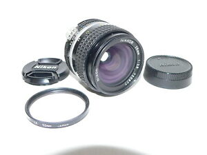 Nikon Nikkor 1:2.8, 28mm Nikon F Mount AI Lens~Ser. #720877~Excellent Condition
