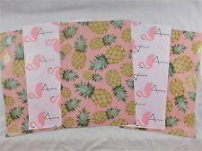 200 10x13 Designer Pineapple Flamingo Mailer Poly Shipping Envelope Boutique Bag