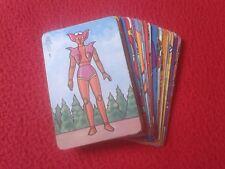 BARAJA DE 48 CARTAS NAIPES CARDS PIPAS TOSTADERO JEM MAZINGER Z .ORIGINALES. VER