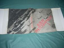 Album Photographique 1, prepared by Pierre de Fenoyl, 1979 1st ed.  PHOTOGRAPHY