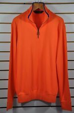 Men's Ralph Lauren POLO GOLF, Half-Zip Mockneck New Peached Interlock. Size. M