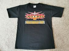 "WCW ""MONDAY NIGHT NITRO"" wrestling Tshirt LAST EVER EVENT Size M *RARE*"