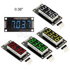 "0.36"" inch 7-Segment 4-Digit LED Display TM1637 Clock Digital Tube Module Yellow"