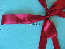 Rare Holiday Authentic Tiffany & Co. Tiffany's Box and RED Bow and Shopping Bag