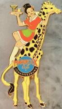Hard Rock Cafe JOHANNESBURG 2001 7th Anniversary PIN Waitress Giraffe LE # / 400