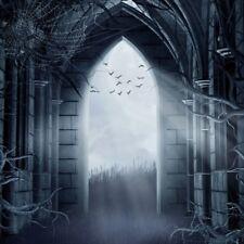 Horror Halloween Scene Backdrop 8x8ft Background Studio Photo Props Vinyl Show