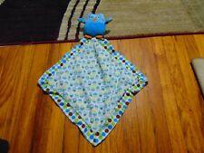Baby Ganz blue owl security blanket/lovey HTF