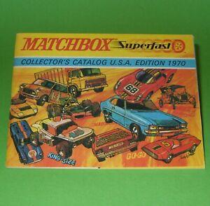 Matchbox / 1970 USA Edition Model Range Catalogue
