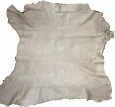 Taupe Lamu Sheep Skin Leather Hide