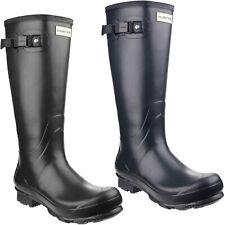 Hunter Norris Field Wellington Boots Adjustable Waterproof Mens Womens Wellies