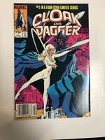 Cloak And Dagger (1983) # 1 (NM) Canadian Price Variant (CPV)  ! TV Show !