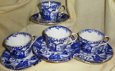Antique 1933-4 ROYAL CROWN DERBY MIKADO TEA CUP & SAUCER (1 of 4) TOP CONDITION