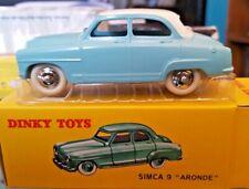 Simca 9 Aronde turquoise - Dinky Toys - 1/43