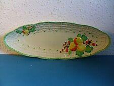 Royal Staffordshire Pottery Honeyglaze Sandwich Platter.A.J.Wilkinson Fruit
