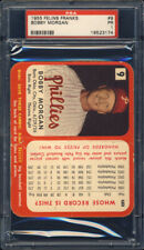 1955 Felin's Franks #9 Bobby Morgan PSA 1 Philadelphia Phillies