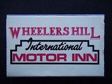 WHEELERS HILL INTERNATIONAL MOTOR INN 242 JELLS RD 03 5613900 MATCHBOX