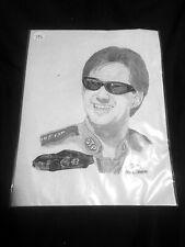 1999 Nascar John Andretti Drawing By Frank Nareau