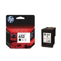 HP 652 ORIGINAL INK CARTRIDGE BLACK COLOUR Brand new and sealed Genuine