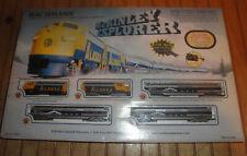 Bachmann McKINLEY EXPLORER TRAIN SET with 2 Alaska Diesel 3 Vista Domes MIB