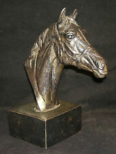 Indian Decorative Silver Plated Horse Head Made of Brass Rare Collectible
