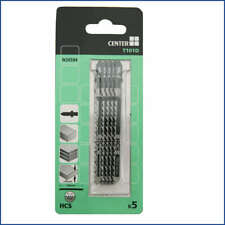BUILD CENTRE TOP QUALITY JIGSAW BLADES FOR WOOD PACK OF 5 x 100 MM T101D BNIP