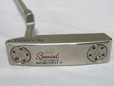 """Used LH Titleist Scotty Cameron Select Newport 2 34"""" Putter With Headcover"""