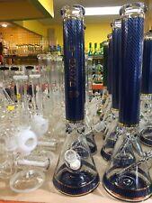 Diamond Original 18 inch Ice Beaker Glass Bottle 9MM Thick Hookah Water Pipe