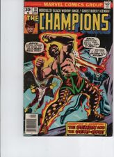 The Champions#10 (Marvel 1976) Ghost Rider,Black Widow,Hercules-Fn