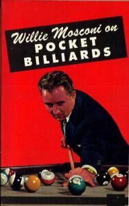 WILLIE MOSCONI - WINNING POCKET BILLIARDS (WORLD'S CHAMPION 1941-58) 1966 BOOK