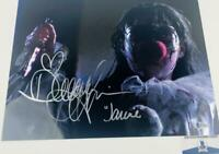 Danielle Harris signed Halloween 11X14 METALLIC photo BAS COA H32860