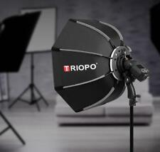 Triopo 90cm Outdoor Portable Octagon Umbrella Softbox fr Speedlite Flash Bracket