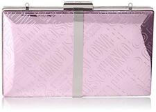 Love Moschino Borsa Embossed TPU Rosa - Borse Baguette Donna (pink) 3x13x20 C