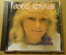 CORRY KONINGS: NET ALS VROEGER Cd Album