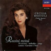 "CECILIA BARTOLI ""ROSSINI RECITAL"" CD NEW!"