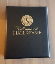 RARE AFL COLLINGWOOD MAGPIES HALL OF FAME 110 CARD SET - BUCKLEY SIGNATURE CARD