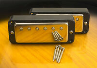 Mini Humbucker Conversion Set For P90 Cutout-4 Wire For Coil Tap - Black