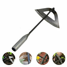 More details for all-steel hardened hollow hoes handheld weeding rake planting vegetables fa pw