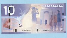 $10 BANK OF CANADA BC-68a Jenkins- Dogde BEV PRINTED 2004 C-Unc