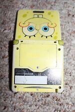 Nintendo Game Boy Advance SP SpongeBob Yellow Handheld System 101 GOOD