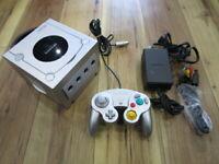 Nintendo GameCube Console Silver w/controller GC Japan w599