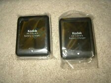 2 new genuine Kodak AA digital Camera NiMH rechargeable Battery Charger K450 450