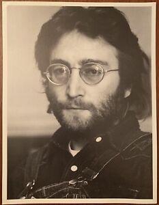 John Lennon Original NYC 1970 Annie Leibovitz Gelatin Photo