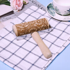 Push-Style Christmas Embossing Rolling Pin Cookie Dough Stick Baking Accessories