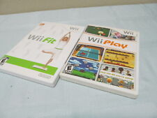 Nintendo Wii Fit & Play Bundle in completed original package w/ all content.